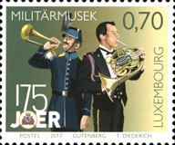 [The 175th Anniversary of the Military Band & the 50th Anniversary of Voluntary Service in the Army, Typ BVL]