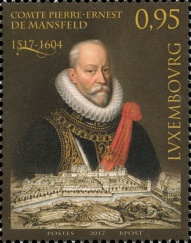 [The 500th Anniversary of the Birth of Peter Ernst I von Mansfeld-Vorderort, 1517-1604, Typ BVO]