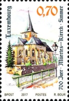 [The 700th Anniversary of the Parish Church of Simmern, Typ BVW]
