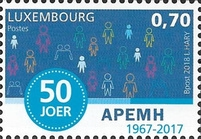 [The 50th Anniversary of the APEMH - Association of Parents of Mentally Handicapped Children, Typ BWS]