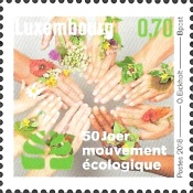 [The 50th Anniversary of the Mouvement Écologique - Ecological Movement, Typ BXH]