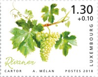 [Charity Stamps - The Luxembourg Moselle Region, Typ BXO]
