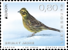 [EUROPA Stamps - National Birds, type BYC]