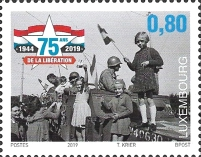 [World War II - The 75th Anniversary of the Liberation of Luxembourg, type BYN]