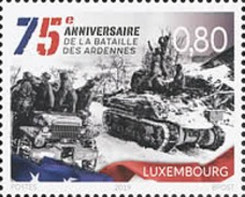 [World War II - The 75th Anniversary of the Battle of Ardennes, type BYT]