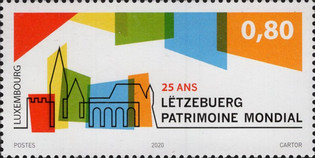 [The 25th Anniversary of Old Luxembourg on UNESCO Heritage List, type BZB]