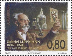 [The 175th Anniversary of the Birth of Gabriel Lippmann, 1845-1921, type BZH]
