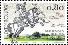 [EUROPA Stamps - Ancient Postal Routes, type BZL]