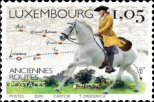 [EUROPA Stamps - Ancient Postal Routes, Typ BZM]