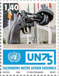 [The 75th Anniversary of the United Nations, type BZZ]
