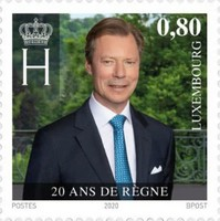 [The 20th Anniversary of Grand Duke Henri's Ascencion to the Throne, type CAK]