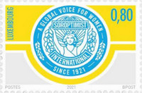 [The 100th Anniversary of Soroptimist International, type CAR]