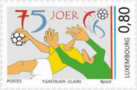[The 75th Anniversary of the Luxembourg Handball Federation, type CAV]