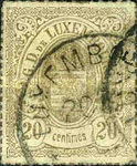 [Coat of Arms - Colored Rouletted Perforation, Typ D10]