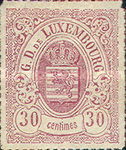 [Coat of Arms - Colored Rouletted Perforation, Typ D12]