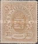[Coat of Arms - Colored Rouletted Perforation, Typ D13]