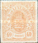 [Coat of Arms - Colored Rouletted Perforation, Typ D15]