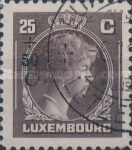 [Grand Duchess Charlotte - Charity Stamps for the Evacuated - Sold as canceled Only in Numbered Folders, Typ DG25]