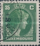 [Grand Duchess Charlotte - Charity Stamps for the Evacuated - Sold as canceled Only in Numbered Folders, Typ DG26]
