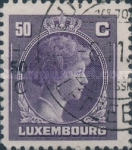 [Grand Duchess Charlotte - Charity Stamps for the Evacuated - Sold as canceled Only in Numbered Folders, Typ DG27]