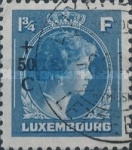 [Grand Duchess Charlotte - Charity Stamps for the Evacuated - Sold as canceled Only in Numbered Folders, Typ DG31]