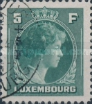[Grand Duchess Charlotte - Charity Stamps for the Evacuated - Sold as canceled Only in Numbered Folders, Typ DG32]