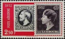 [Airmail - The 100th Anniversary of Luxembourg`s Stamps, Typ FN1]