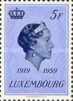 [The 40th Anniversary of Reign of Grand Duchess Charlotte, Typ JK]