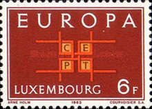 [EUROPA Stamps, Typ LZ]