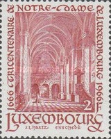 [The 300th Anniversary of Our Lady of Luxembourg, type NW]