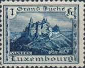 [Grand Dutchess Charlotte and View of Vianden, type O1]