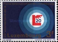 [The 20th Anniversary of the Luxembourg Fair, type PO]