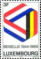 [The 25th Anniversary of Benelux, type QH]
