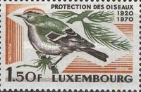 [The 50th Anniversary of Luxembourg Society for Bird Protection, Typ QU]