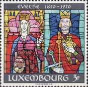 [The 100th Anniversary of the Diocese of Luxembourg, Typ QY]