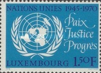 [The 25th Anniversary of the United Nations, Typ RB]
