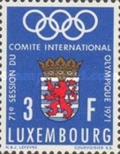 [The 71st Session of the International Olympic Committee, Typ RO]