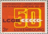 [The 50th Anniversary of the Christian Workers Union, Typ RP]