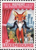 [The 100th Anniversary of Publication of Rénert the Fox by Michel Rodange, Typ SO]