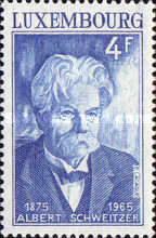 [The 100th Anniversary of the Birth of Dr. Albert Schweitzer, 1875-1965, Typ US]