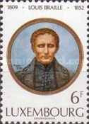 [The 125th Anniversary of the Death of Louis Braille, Typ WI]