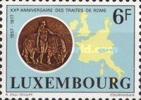 [The 20th Anniversary of the Treaties of Rome, Typ WO]