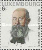 [The 50th Anniversary of the Death of Émile Mayrisch, 1862-1928, type XD]