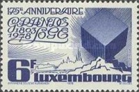 [The 175th Anniversary of the Masonic Grand Lodge of Luxembourg, type XH]