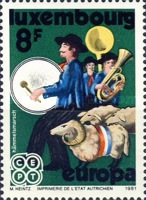 [EUROPA Stamps - Folklore, Typ ZL]