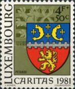 [Town Arms - Caritas Issue, Typ ZV]
