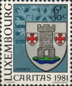[Town Arms - Caritas Issue, Typ ZW]
