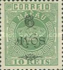 [Issues of 1884-1894 Surcharged, Typ AA1]