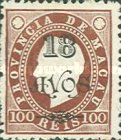 [Issues of 1884-1894 Surcharged, Typ AA15]