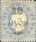 [Issues of 1884-1894 Surcharged, Typ AA16]